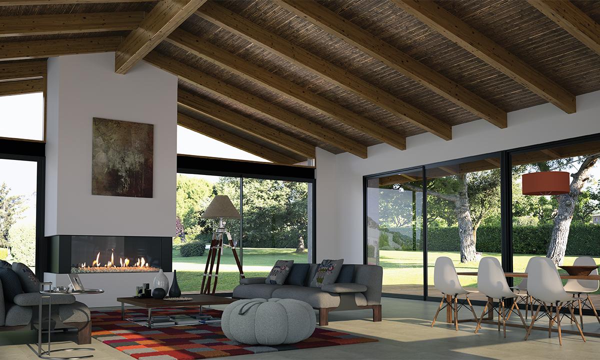 Las cubiertas con thermochip aislamientos javier for Modelos de techos para galerias