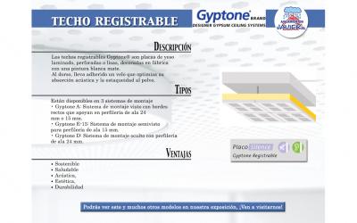 Techo Registrable