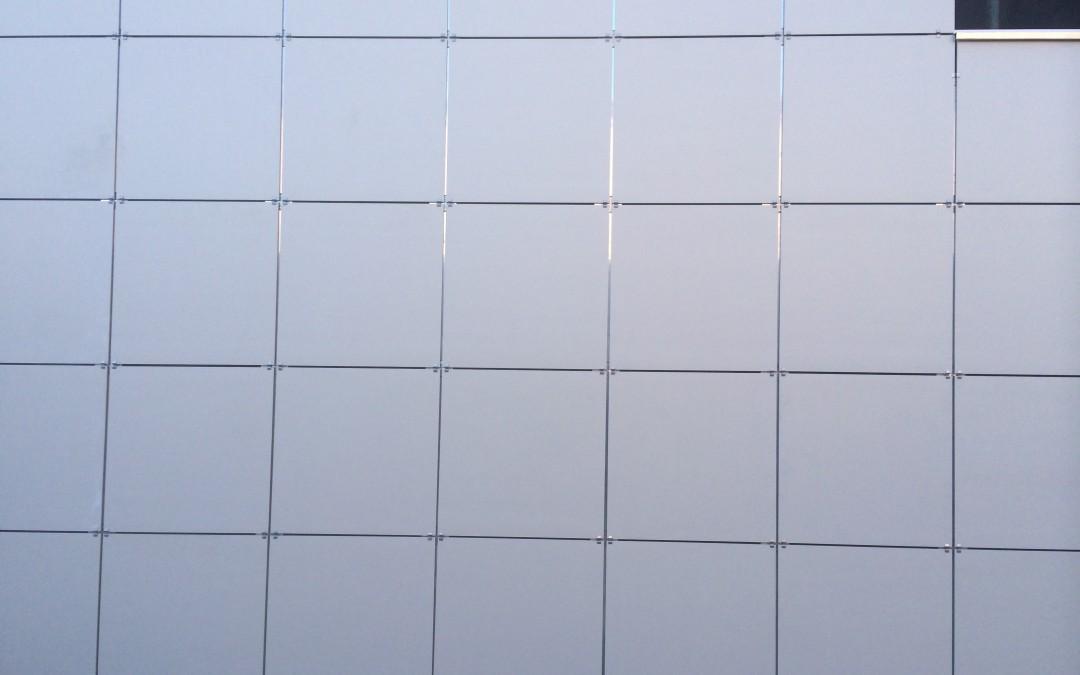 Fachada ventilada; Centro Asistencial Aspanis